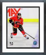 Calgary Flames Mark Giordano Action Framed Photo