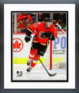 Calgary Flames Michael Ferland Action Framed Photo