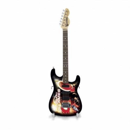 Calgary Flames Mini Collectible Guitar