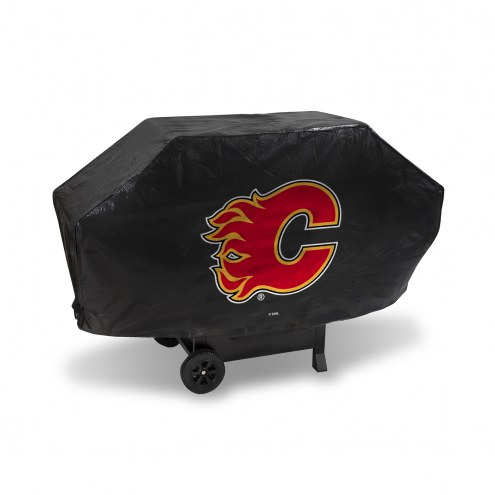 Calgary Flames Padded Grill Cover