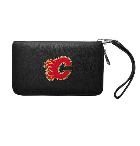 Calgary Flames Pebble Organizer Wallet