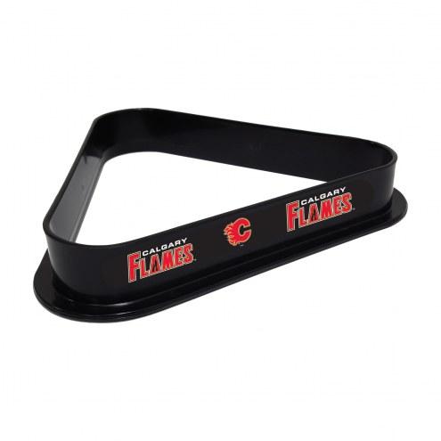 Calgary Flames Pool 8 Ball Rack