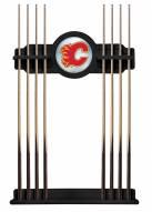 Calgary Flames Pool Cue Rack