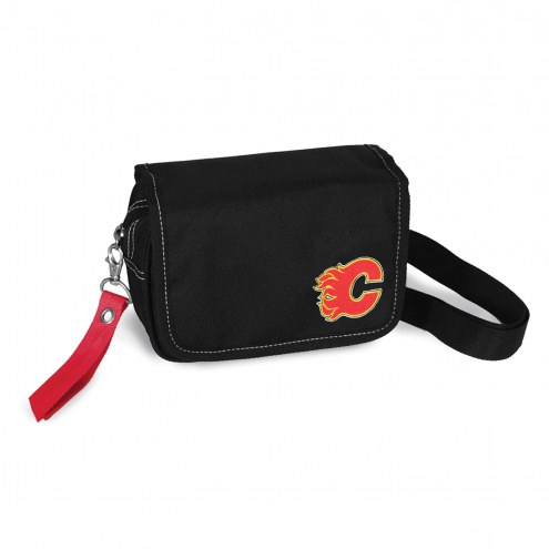 Calgary Flames Ribbon Waist Pack Purse
