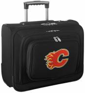 Calgary Flames Rolling Laptop Overnighter Bag