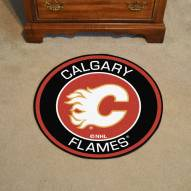 Calgary Flames Rounded Mat
