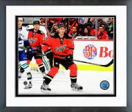 Calgary Flames Sean Monahan Action Framed Photo