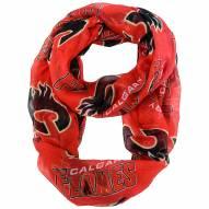 Calgary Flames Sheer Infinity Scarf