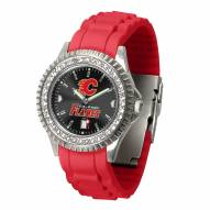Calgary Flames Sparkle Women's Watch
