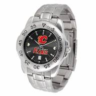 Calgary Flames Sport Steel AnoChrome Men's Watch