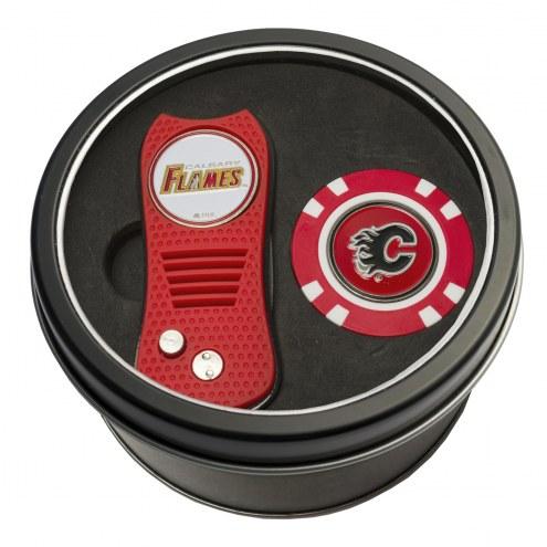 Calgary Flames Switchfix Golf Divot Tool & Chip