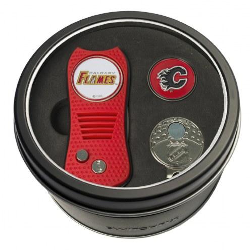 Calgary Flames Switchfix Golf Divot Tool, Hat Clip, & Ball Marker