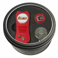 Calgary Flames Switchfix Golf Divot Tool, Hat Clip, & Ball Marker