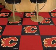 Calgary Flames Team Carpet Tiles