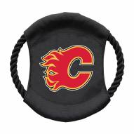 Calgary Flames Team Frisbee Dog Toy