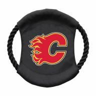Calgary Flames Team Frisbee Dog Toy