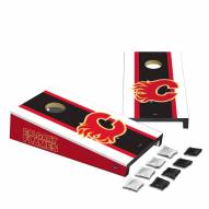 Calgary Flames Mini Cornhole Set