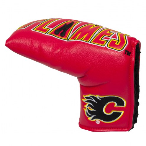 Calgary Flames Vintage Golf Blade Putter Cover