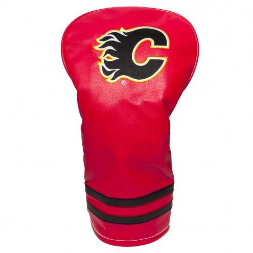 Calgary Flames Vintage Golf Driver Headcover