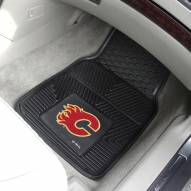 Calgary Flames Vinyl 2-Piece Car Floor Mats