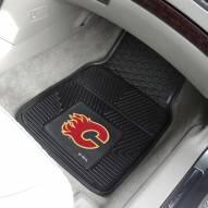 Calgary Flames Vinyl 2-Piece Car Floor Mats