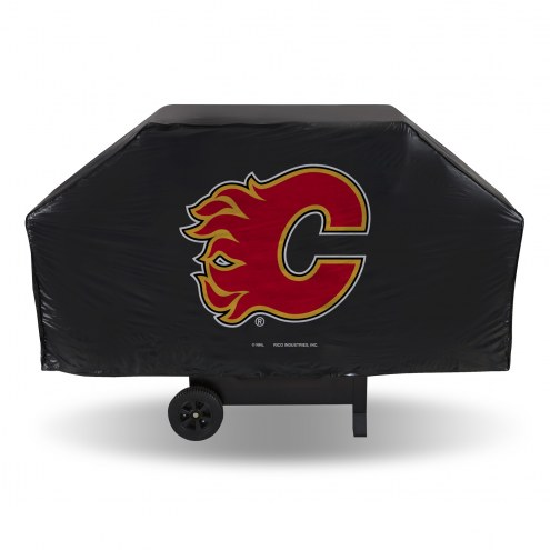 Calgary Flames Vinyl Grill Cover