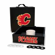 Calgary Flames Washer Toss Game Set