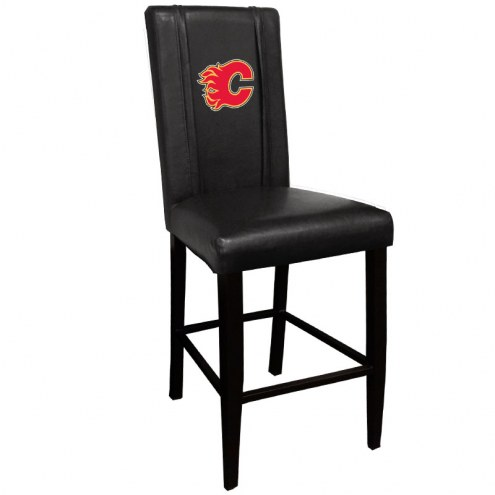 Calgary Flames XZipit Bar Stool 2000 with Red Logo