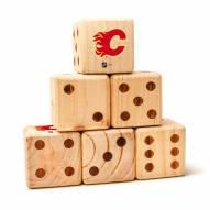 Calgary Flames Yard Dice