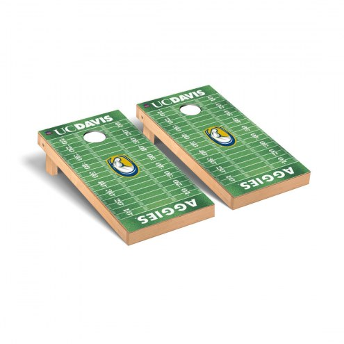California Davis Aggies Football Field Cornhole Game Set
