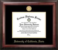 California Davis Aggies Gold Embossed Diploma Frame