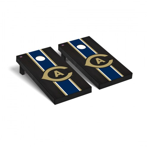 California Davis Aggies Onyx Stained Cornhole Game Set