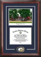 California Davis Aggies Spirit Diploma Frame with Campus Image