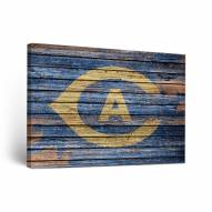 California Davis Aggies Weathered Canvas Wall Art