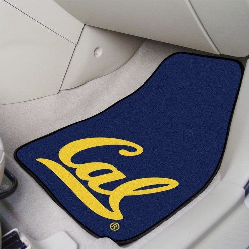 California Golden Bears 2-Piece Carpet Car Mats