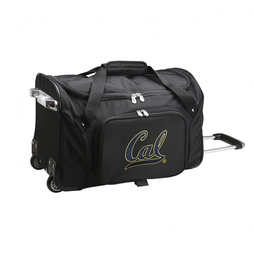 "California Golden Bears 22"" Rolling Duffle Bag"