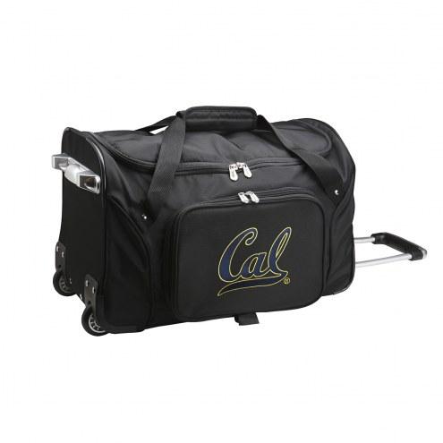 """California Golden Bears 22"""" Rolling Duffle Bag"""