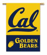 "California Golden Bears 28"" x 40"" Two-Sided Banner"