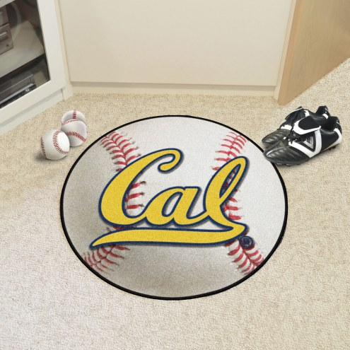 California Golden Bears Baseball Rug