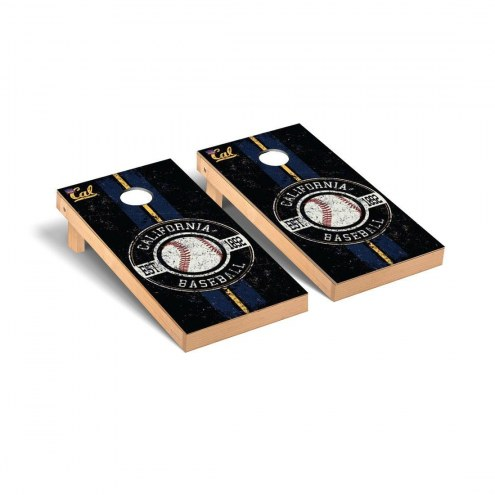 California Golden Bears Baseball Vintage Cornhole Game Set