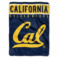 California Golden Bears Basic Plush Raschel Blanket