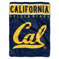 California Golden Bears Basic Plush Raschel Blanket