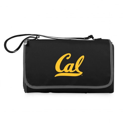 California Golden Bears Black Blanket Tote