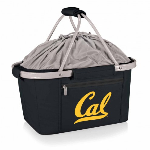 California Golden Bears Black Metro Picnic Basket