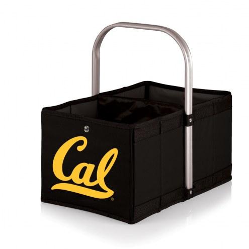 California Golden Bears Black Urban Picnic Basket