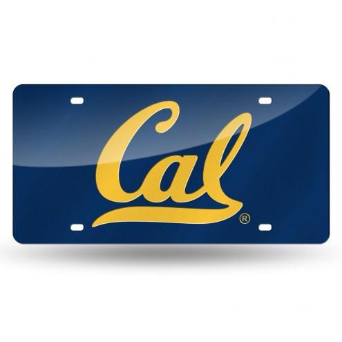 California Golden Bears Laser Cut License Plate