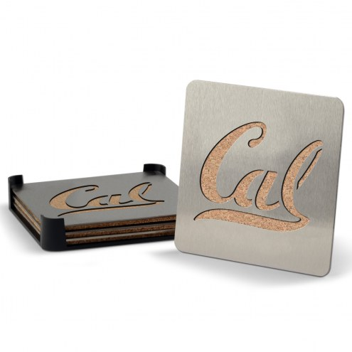 California Golden Bears Boasters Stainless Steel Coasters - Set of 4