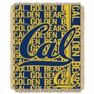 California Golden Bears Double Play Woven Throw Blanket