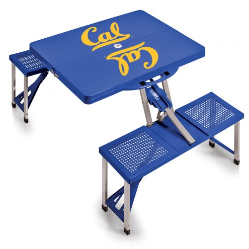 California Golden Bears Folding Picnic Table