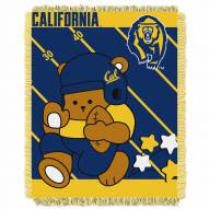 California Golden Bears Fullback Baby Blanket